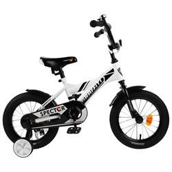"Велосипед 14"" Graffiti Spector, цвет белый"