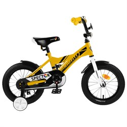 "Велосипед 14"" Graffiti Spector, цвет жёлтый/чёрный"